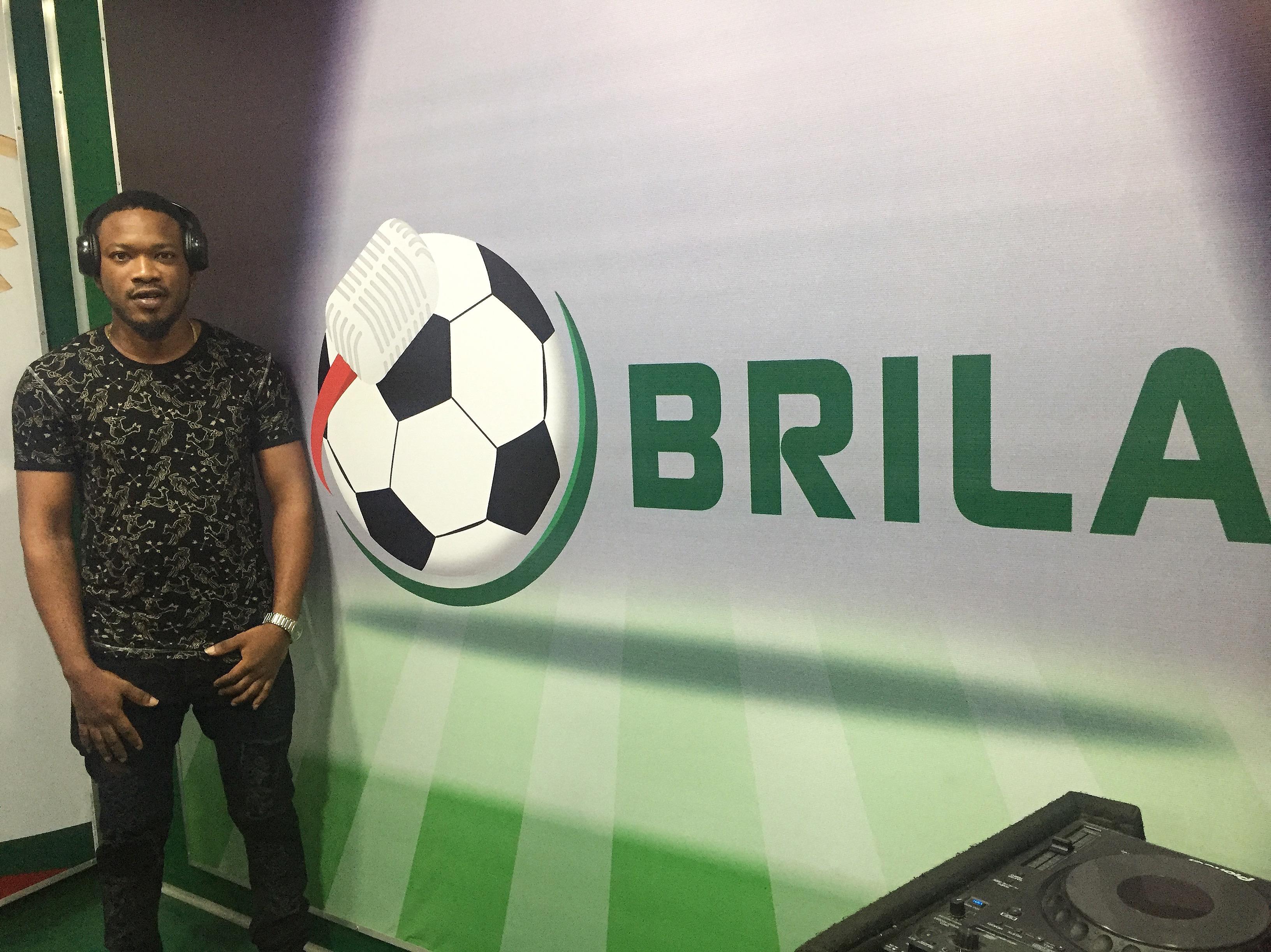 Abiola Dosunmu- Winner of #MyBestFootballMoment In Brila Studio