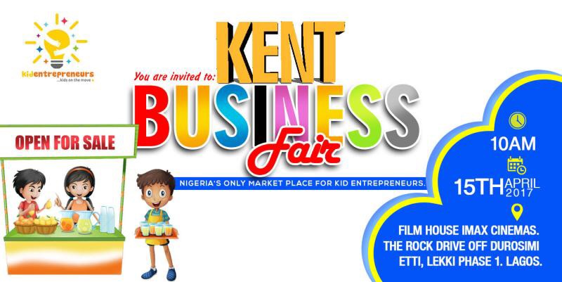 Be At The Kids Business Fair Happening Tomorrow- April 15th 2017