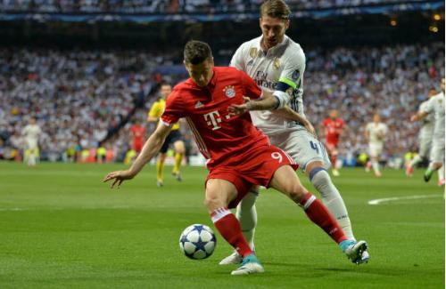 Lewandowski , Sergio Ramos