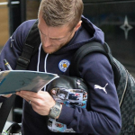 Vardy Upgrade! Striker Shows off £53k Watch, Custom Wash bag and Louis Vuitton Bags