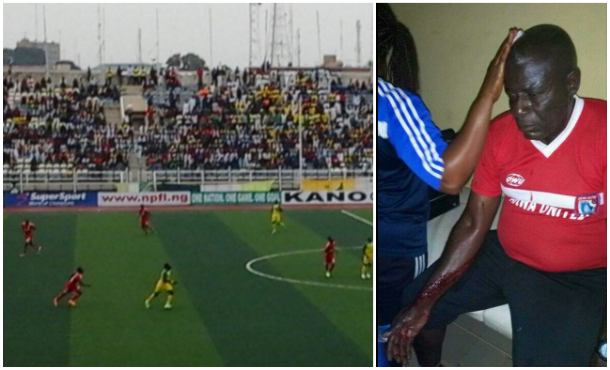 Akwa United's Victory in Kano Marred by Crowd Violence