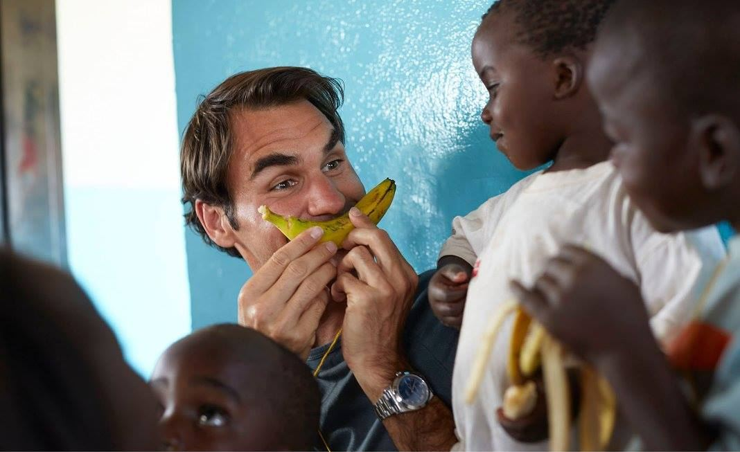 Federer And His Love For Africa.