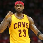 LeBron Moves To Third Place On Playoff Scoring List