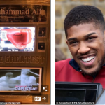 Anthony Joshua purchases Muhammad Ali memorabilia