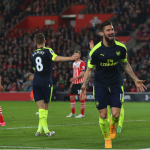 Arsenal one Spot from Top Four, beat Southampton 2-0