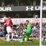 Wayne Rooney's goal versus Tottenham was Man United's first away strike against top six side this season