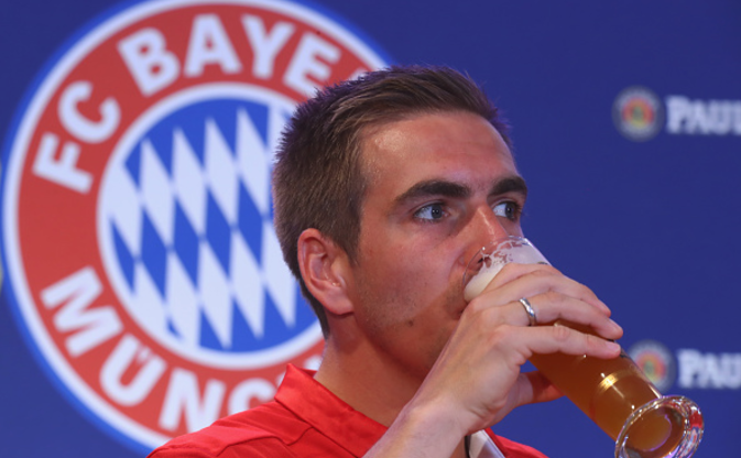 Bayern Munich induct retiring Lahm into Hall of Fame
