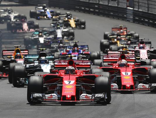 Sebastian Vettel, Monaco F1 GP