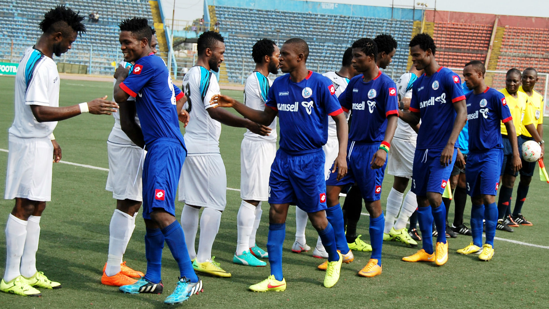Build up to CAF Confederations match Rivers United Vs Club Africain