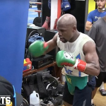 Mayweather : 'I get bumps and bruises, but I don't have a bad night.'