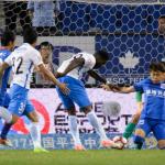 Brown Ideye's brace Cancels out Obafemi Martins' Opener in Tianjin Teda 2-1 win