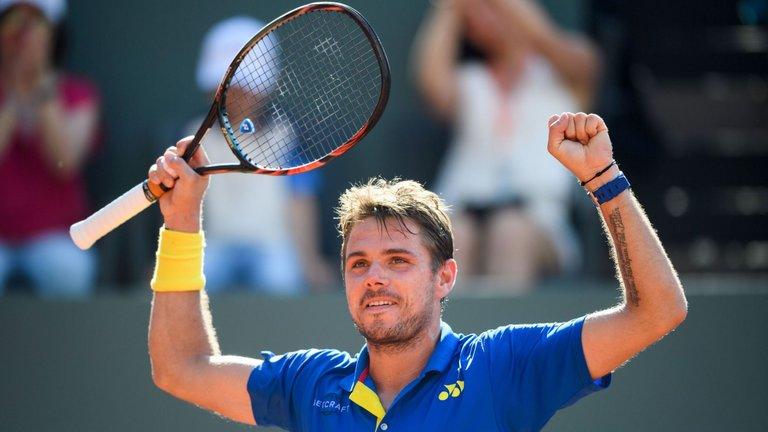 Wawrinka saw past Dolgopolov to reach French Open Third Round
