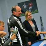 Rafa Benitez invites Babayaro's Son 'the new Messi' to Newcastle United's Academy