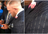 McGregor, Mayweather, Suit
