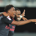 Iwobi assists Lacazette for £53m Man's debut goal
