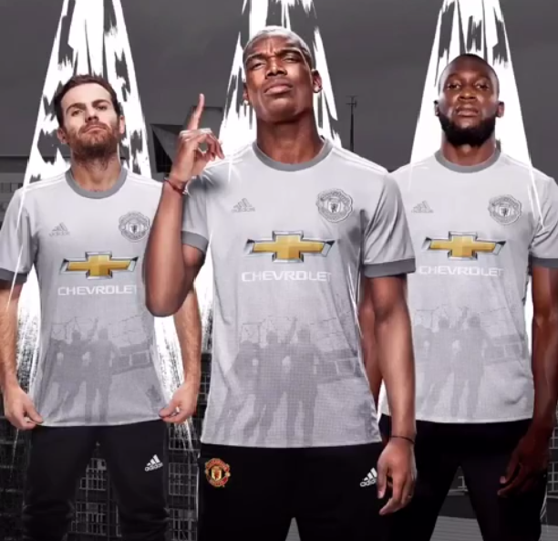 Man United third kit
