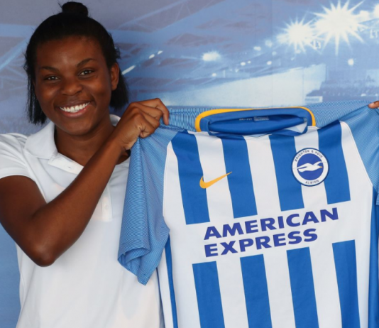 FAWSL, Ini Umotong, Brighton and Hove Albion