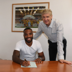 "Lacazette signs ""long-term contract"" with Arsenal"
