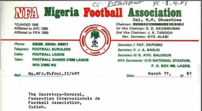NFF Founded 1945