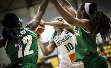 Senegal, Nigeria, 2017 AfroBasket Women Championship