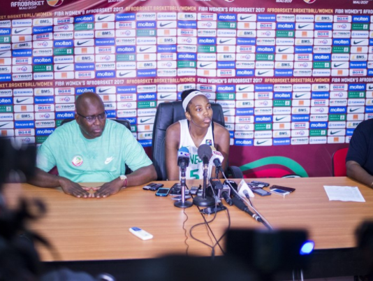 Sam Vincent, 2017 Women's AfroBasket, D'Tigress