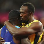 World Championships: Justin Gatlin beats Usain Bolt in 100m final