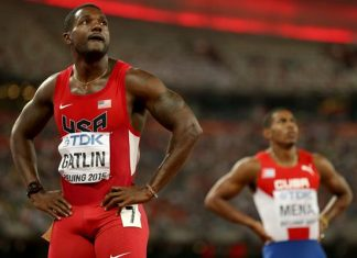Justin Gatlin issues official apology after receiving jeers at london championships