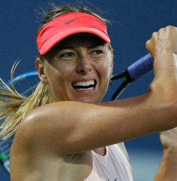 Maria Sharapova is passionate ahead of us open