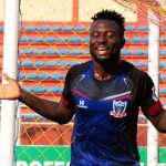 Okpotu finishes as season's top scorer, sees red at FC IfeanyiUbah