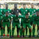 FIFA RANKINGS   Nigeria drops despite Impressive run