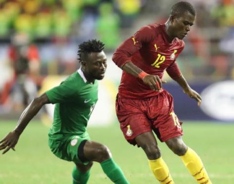 Ghana - Nigeria combined XI