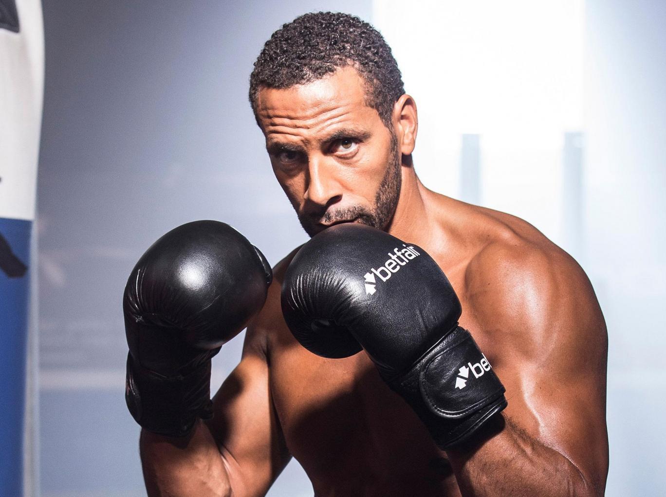 Former England defender, Rio Ferdinand launches bid to become a pro boxer