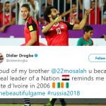 Real Pharaoh! Didier Drogba Hails King of Egypt, Mo Salah