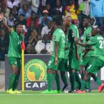Zambia National team Jets Into Uyo for the crucial clash with the Super Eagles