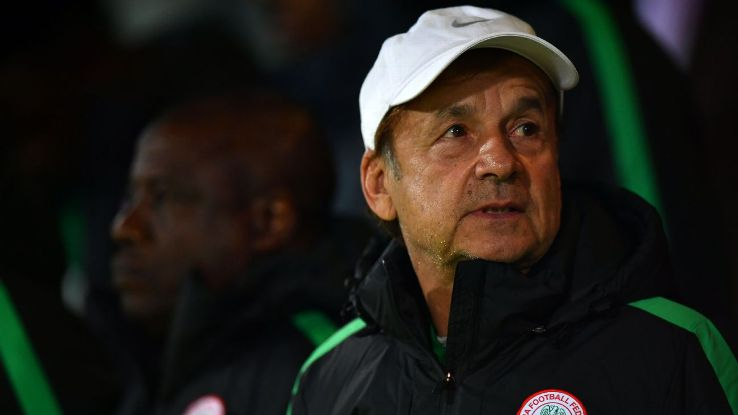 NFF offer Gernot Rohr Two-year Contract extension