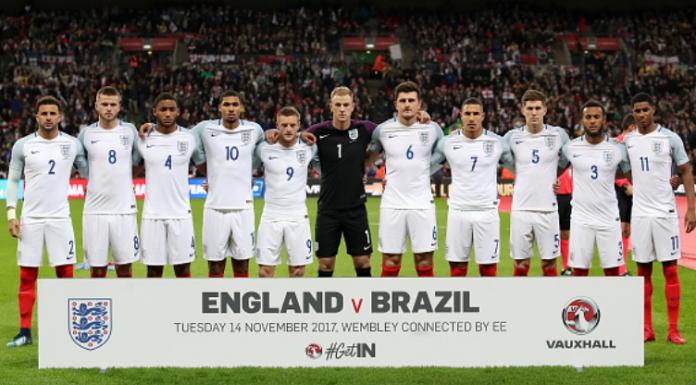 England, Three Lions, 2018 FIFA World Cup