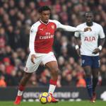 Iwobi celebrates Derby win against Tottenham