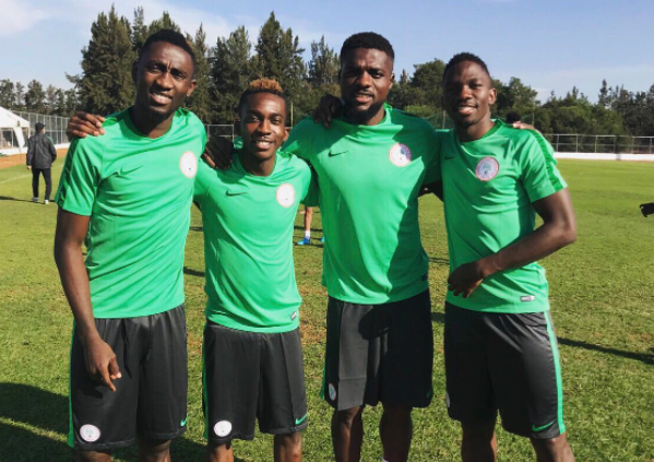 Super Eagles Algeria bound, will train once before Matchday