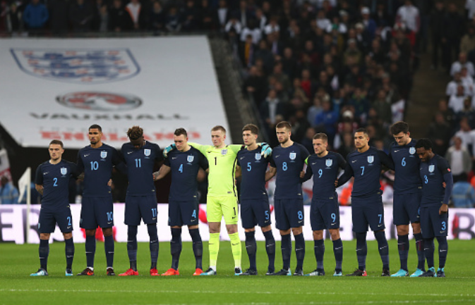 England, 2018 FIFA World Cup