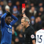 Ndidi sees first Career red in Leicester's big loss to Palace