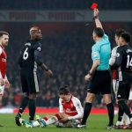 Pogba sees red in United's win over Arsenal, set to miss Manchester Derby