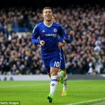 "Report: Chelsea's Hazard ""agrees"" to leave for Madrid in summer"