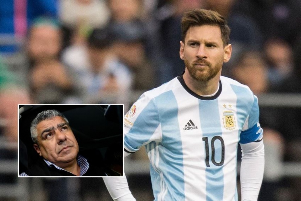 Argentine FA Boss urges Barcelona to reduce Messi's playing time