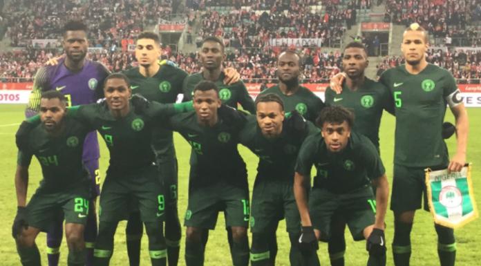 Super Eagles, 2018 FIFA World Cup,