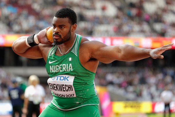 Doha 2019: Enekwechi finished 8th in the men's Shot Put Final