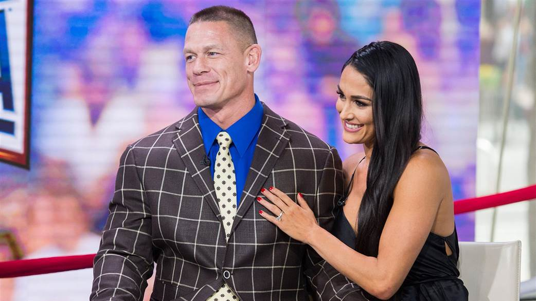 Engaged Wrestlers John Cena and Nikki Bella announce shock break-up after six years together