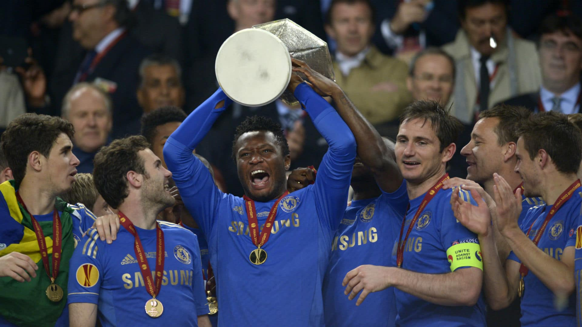 Kante, Essien deny Mikel Obi spot in Chelsea's team of the Decade