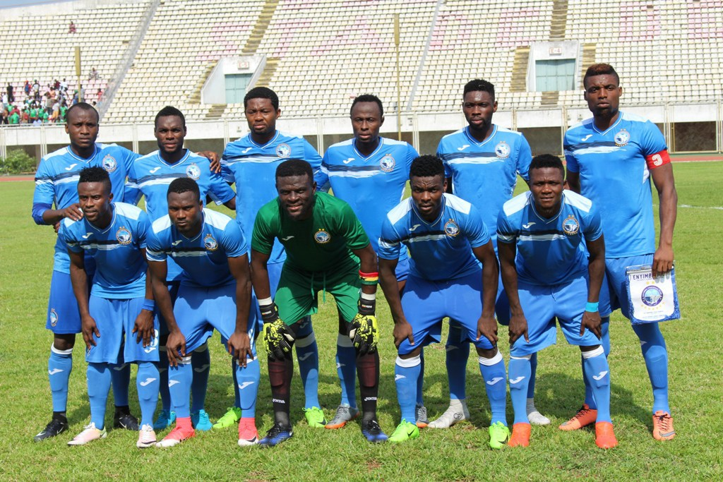 CAF CC: Congo's Carra demolish Enyimba in Brazzaville
