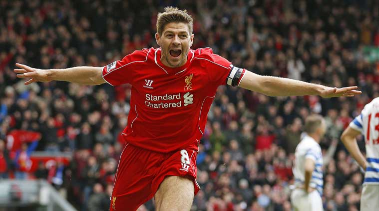 """Let the party begin"" – Gerrard celebrates Liverpool's title win"