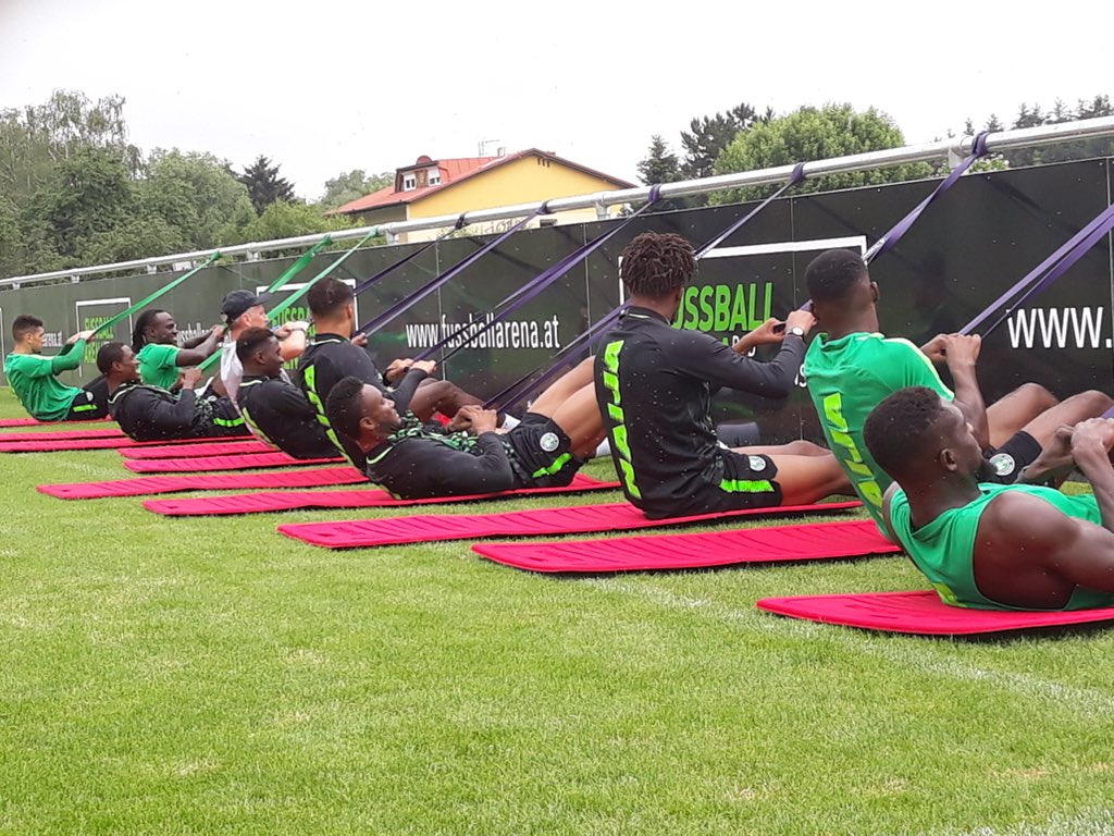 Eagles set for 'Open door' training session in Russia today